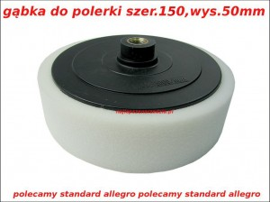 150MM GĄBKA DO POLERKI SILVER